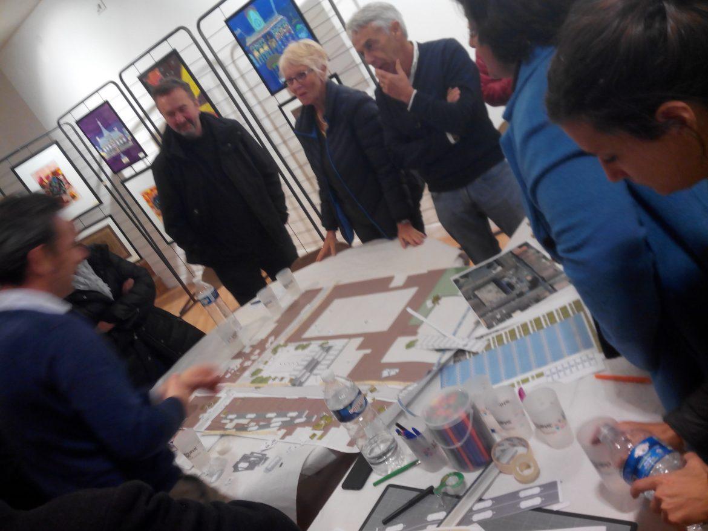 Atelier Cœur de Bastide: concertation du 18 novembre 2017