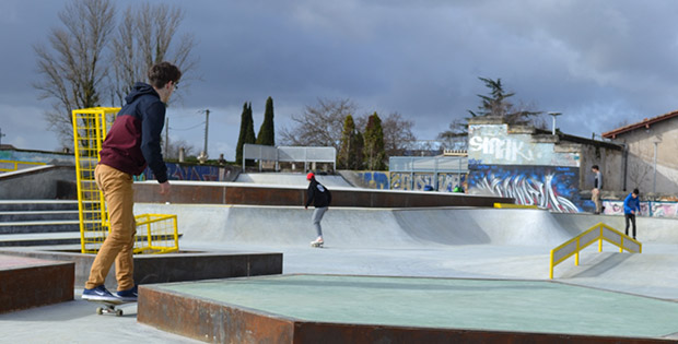 Skate-park et jeunesse