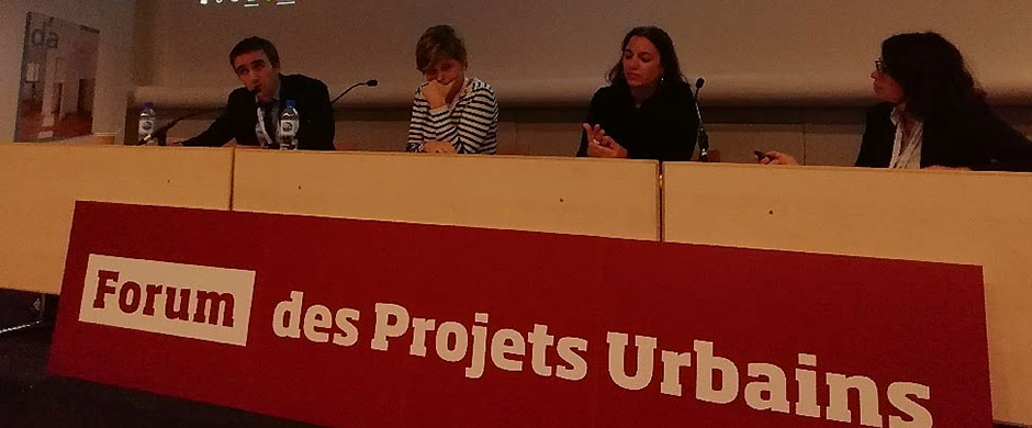 Forum des projets urbains à Paris le 13 novembre