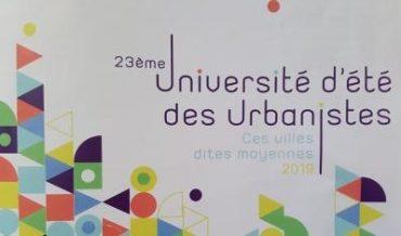 23ème université d'été des urbanistes: Libourne invitée!